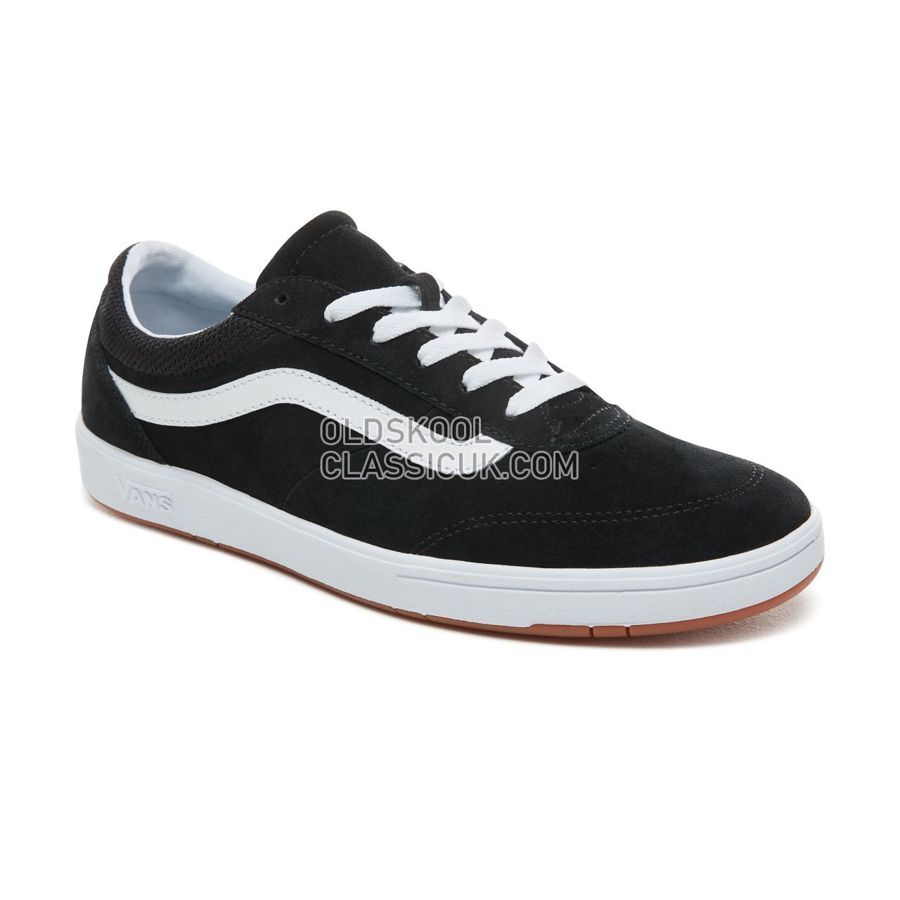 aa1772ec73f80 ... Vans Staple Ultracush Cruze Sneakers Mens (Staple) Black/True White  VN0A3WLZOS7 Shoes ...