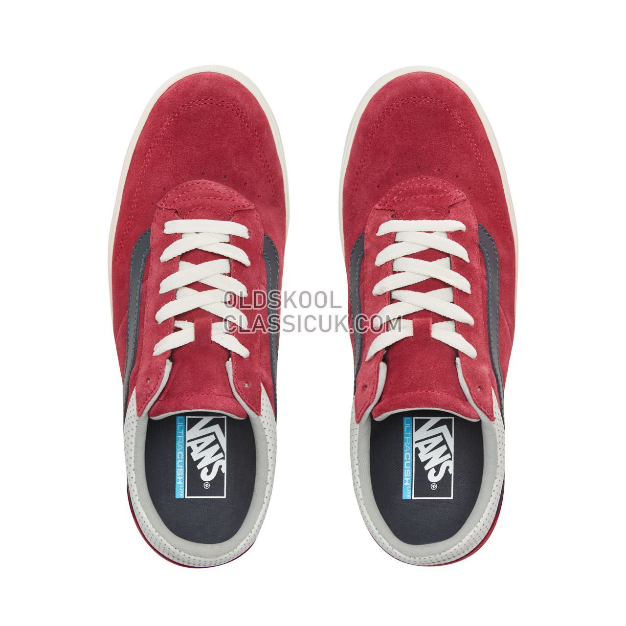 Vans Staple Ultracush Cruze Sneakers Mens (Suede) Rumba Red/Marshmallow VN0A3WLZVTZ Shoes
