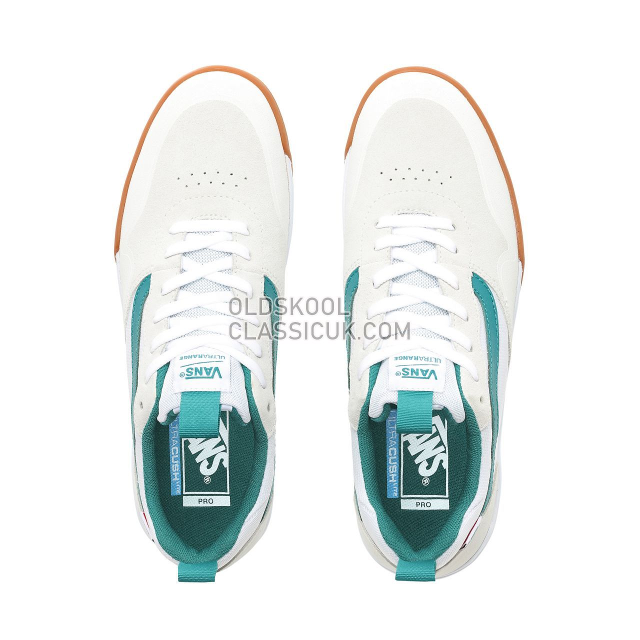 Vans Ultrarange Pro 2 Sneakers Mens Marshmallow/Quetzal Green VN0A3WLGVGY Shoes