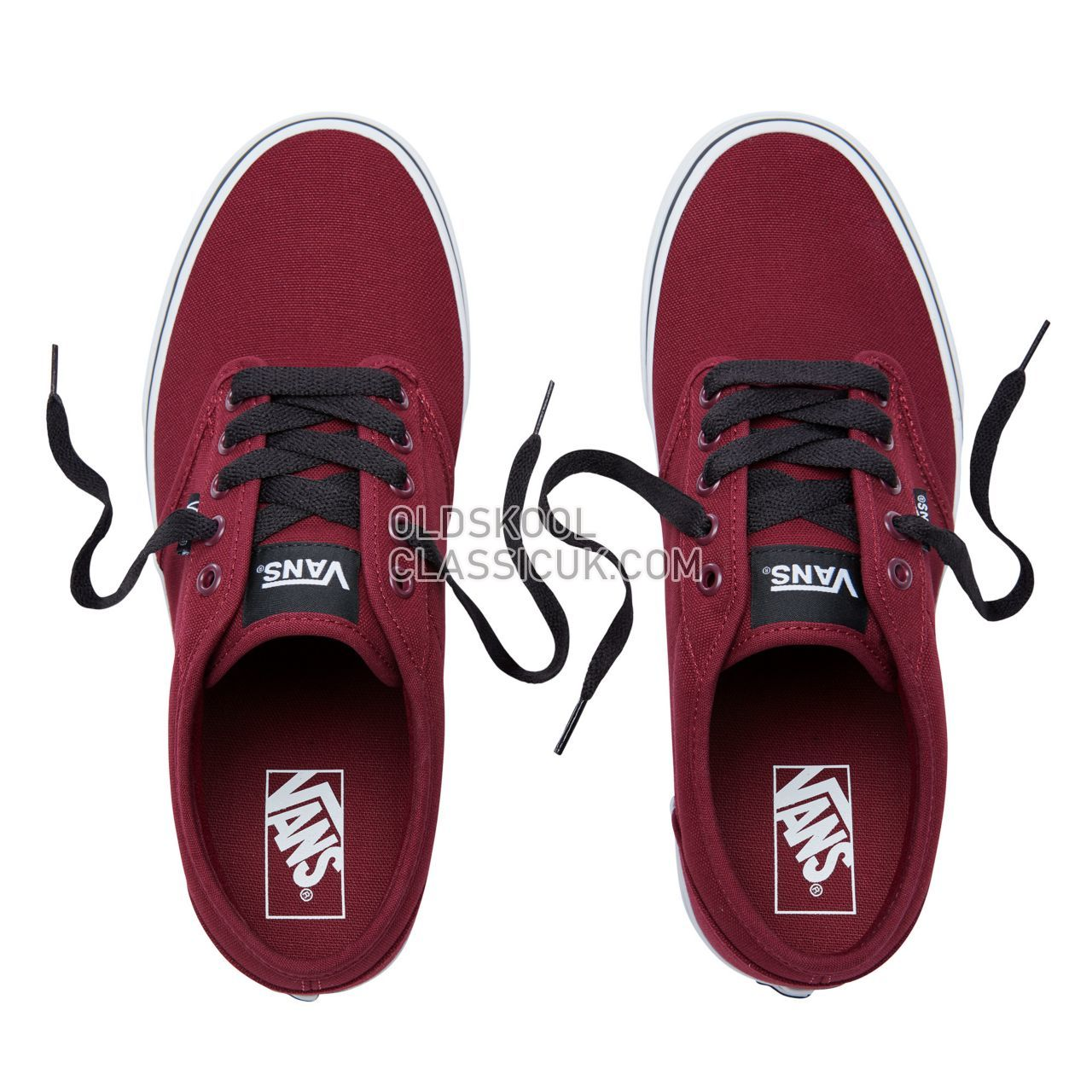 Vans Atwood Sneakers Mens Oxblood/White VN000TUY8J3 Shoes