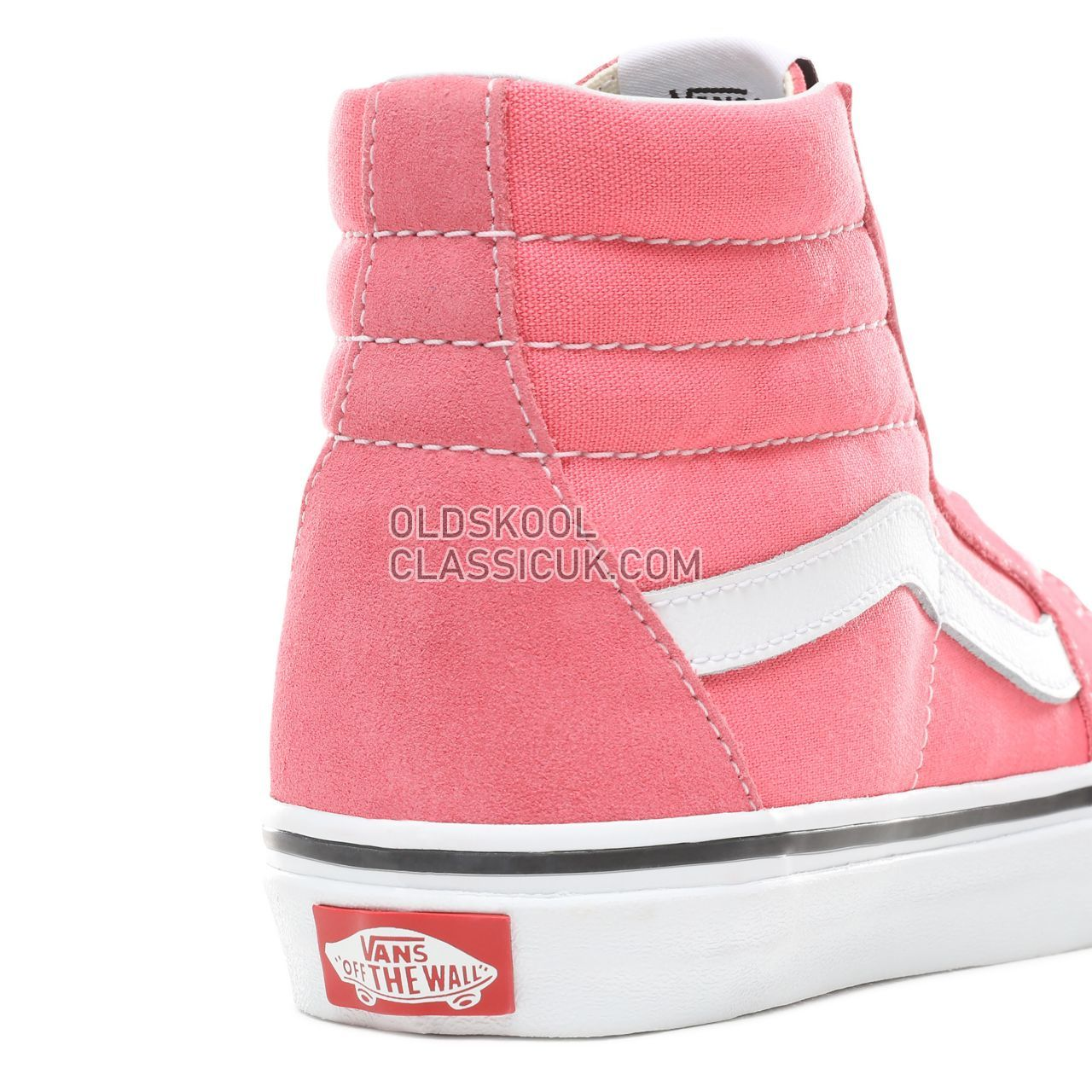 6ec3862777e ... Vans Sk8-Hi Sneakers Womens Strawberry Pink True White VN0A38GEGY7 Shoes