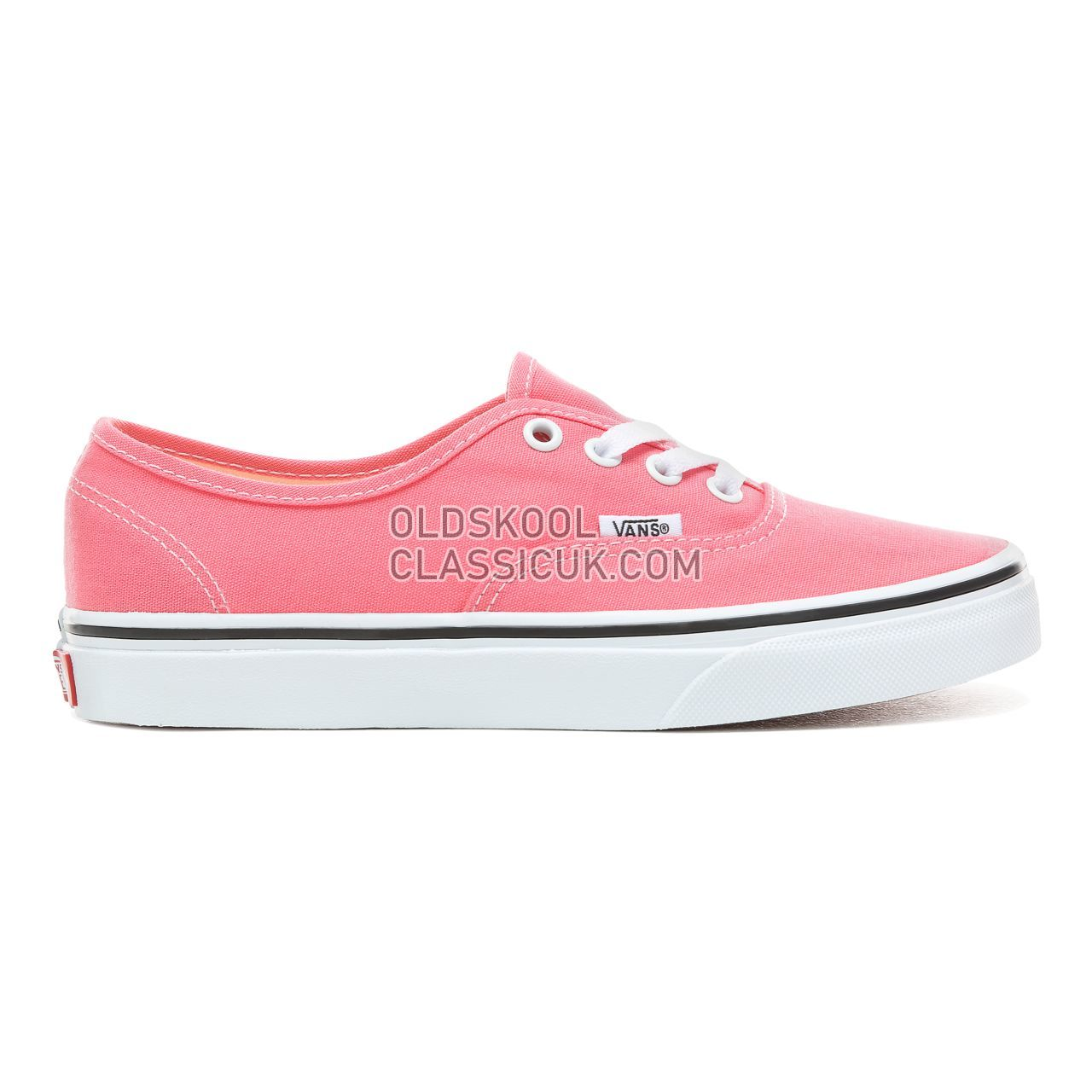 Vans Authentic  Sneakers Womens Strawberry Pink/True White VN0A38EMGY7 Shoes