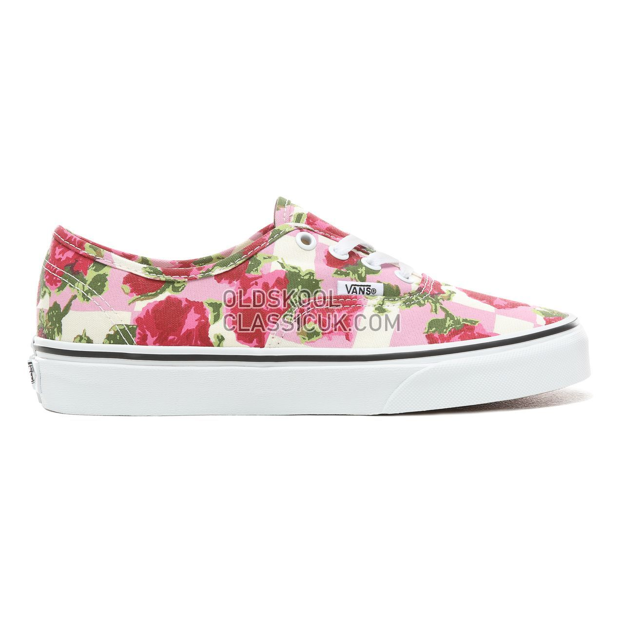 Vans Romantic Floral Authentic Sneakers Womens (Romantic Floral) Multi/True White VN0A38EMVKB Shoes