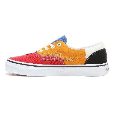 d6dbd4b434 Vans Patchwork Era Shoes Womens Style Code:VN0A38FRVMF Colour:(Patchwork)  Multi/True White