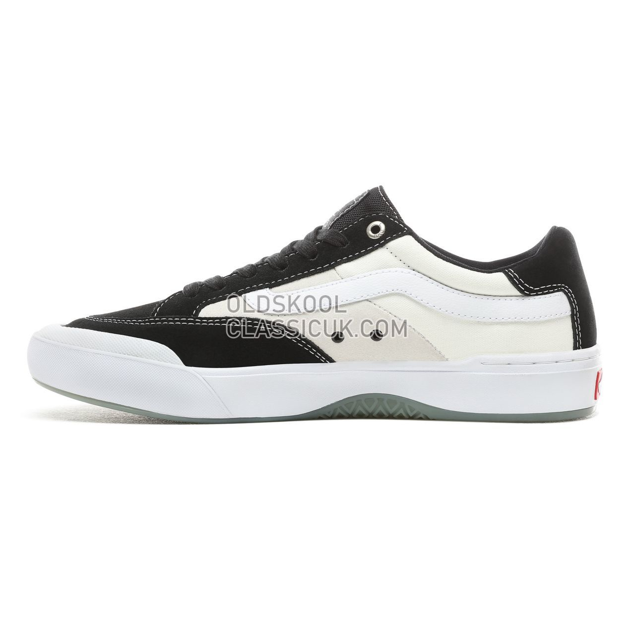Vans Berle Pro Sneakers Mens Black-White VN0A3WKXY28 Shoes