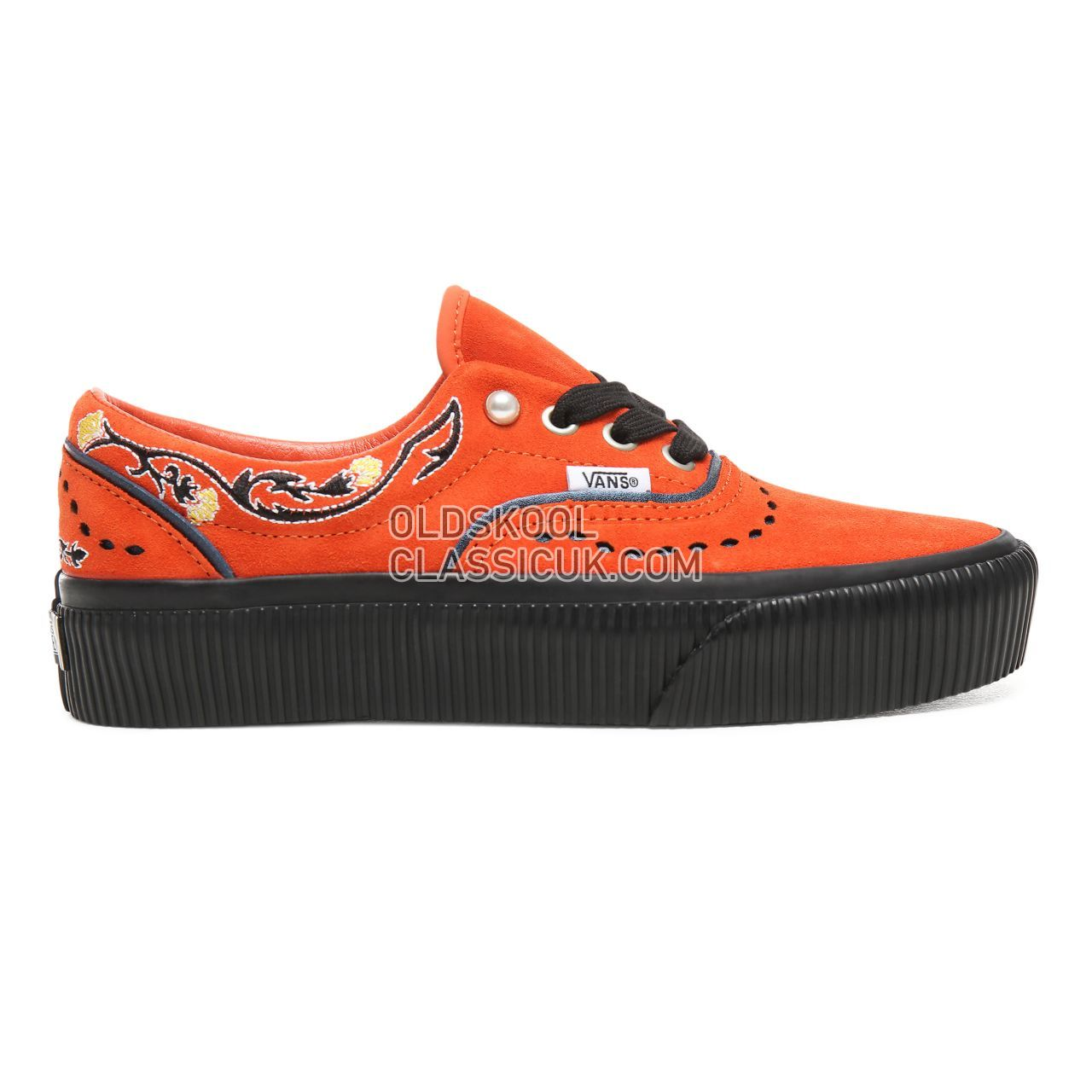 041c1d7fc00 Vans Pearly Punk Era Platform Sneakers Womens (Pearly Punk) Koi Black  VN0A3WLUVPW Shoes ...