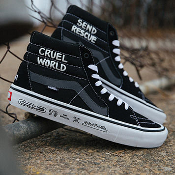 Men Vans Hi&Mid-top shoes